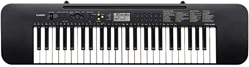 Casio CTK 240 Musical Keyboard Black