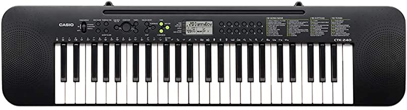 Casio CTK-240H5 49 Full-Size Keys Keyboard Black