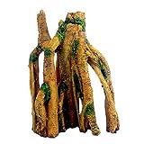 Joocyee - Tronco de árbol de Acuario, Adornos de raíces de Madera a la Deriva, Adornos de pecera de Paisaje, simulación de paisajismo, pecera de Madera a la Deriva, como se Muestra