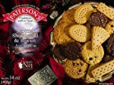 Paterson's Rich Shortbread and Biscuit Assortment 400g, 14 oz, European cookies, Scottish Cookies, Chocolate-covered shortbread cookies, Shortbread cookies from Scotland, Tea cookies (Pack of 1)