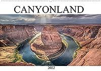 CANYONLAND, USA (Wandkalender 2022 DIN A2 quer): Schoene Naturlandschaften der National Parks im Suedwesten der USA. (Monatskalender, 14 Seiten )