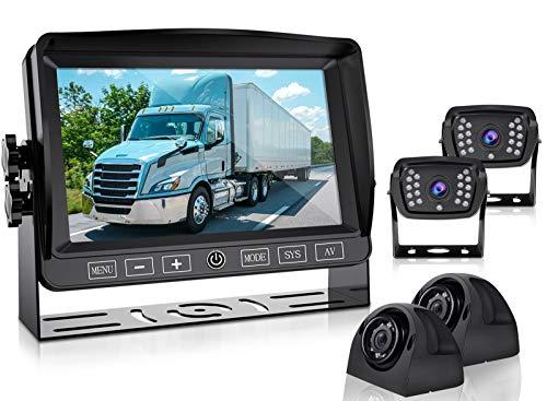 Backup Camera and 7''1080P HD Monitor DVR Recorder...