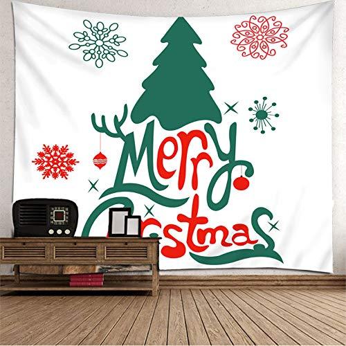 Tapiz para colgar en la pared, colcha para pared, diseño de árbol de Navidad