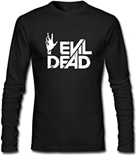 Man's Evil Dead Horror Film Movie Hand Logo Long Sleeve