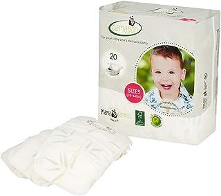 supersuaves 5 capas BABYFRIEND absorbentes para pa/ñales de tela Pack de 5 compresas de noche BAMBOO DRY
