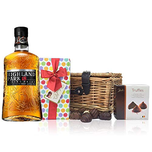Photo of Highland Park 18 Year Old and Chocolates Hamper