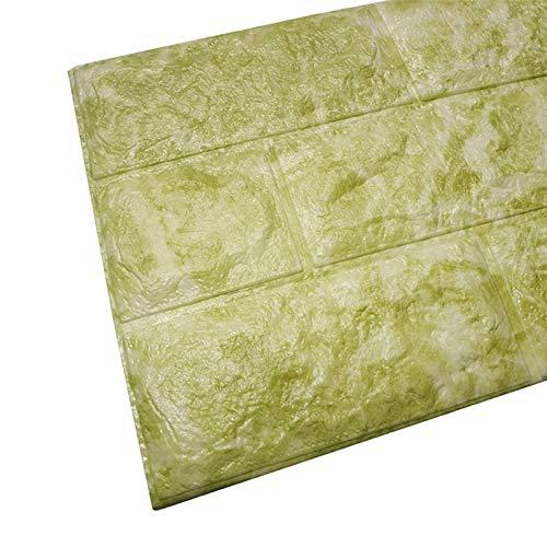 Piedra de Ladrillo Paneles de Pared Autoadhesivos Pegatinas de pared estéreo 3D imitación ladrillo dormitorio decoración impermeable autoadhesivo papel tapiz panel para casa sala de estar cocina cocin
