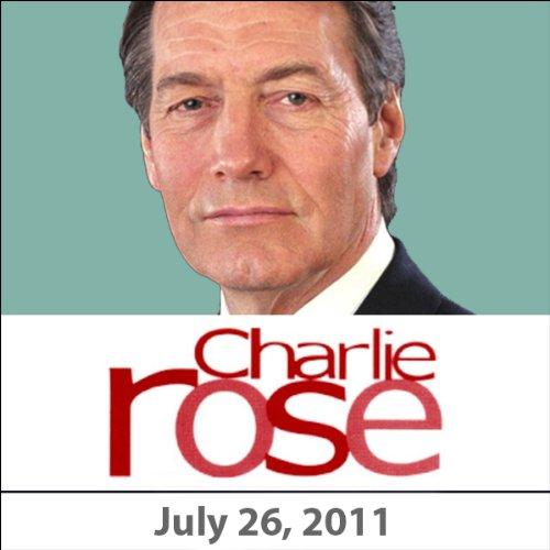Charlie Rose: Gerald Seib, Dan Balz, Al Hunt, Errol Morris, July 26, 2011 audiobook cover art