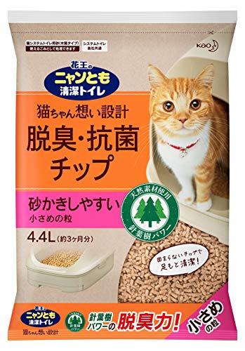 スマートマットライト ニャンとも清潔トイレ 猫砂 脱臭・抗菌チップ 大容量 M サイズ