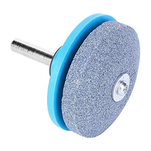 Afilador de cuchillas de larga vida útil, herramienta de afilado de cuchillas eficiente, cian para pulir Taladro eléctrico Mantenga la cuchilla equilibrada Elimine(Whetstone sander-blue)
