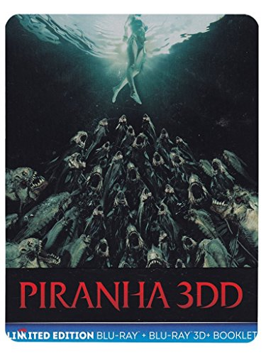 piranha 3dd - limited edition (blu-ray 3d/2d - steelbook) registi john gulager [Blu-ray]