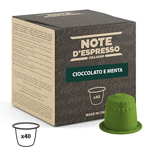 Note D'Espresso Cápsulas de Chocolate con Menta - 40 x 7 g, Total: 280 g