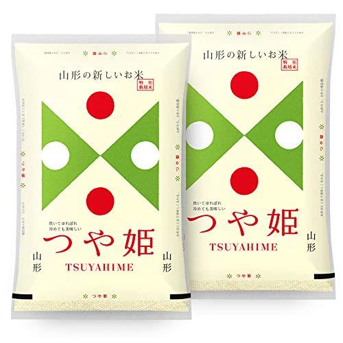 【精米】 つや姫 10kg (5kgx2袋) 山形県産 令和 元年産 特別栽培米 白米