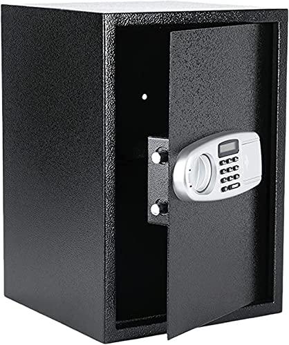 WXFCAS 2 Piedi cubici cassaforte Digitale □ cassaforte in Acciaio elettronico con Schermo LCD Tastiera, Proteggere i passaporti dei monili dei Soldi □ per Il Viaggio d Affari a casa