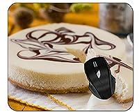 ネオプレンの裏地が付いたマウスパッドのペストリーデザートケーキデザート