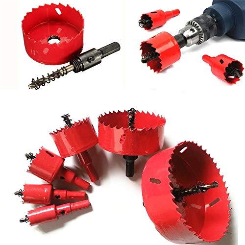ExcLent 16-70Mm M42 Hss Hole Saw Cutter Drill Bit Bi Metal Tip Drill For Aluminum Iron Wood - 70mm