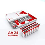 Bevigor AA Lithium Batteries, 24Pack Ultimate Lithium Double A...