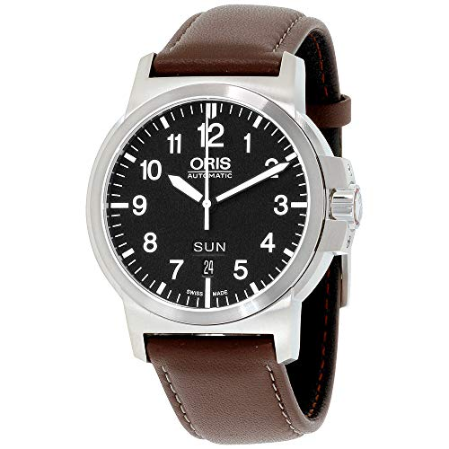 ORIS BC 3 01 735 7641 4164-07 5 22 55 GENTS MARRONE VITELLO AUTOMATISMO...