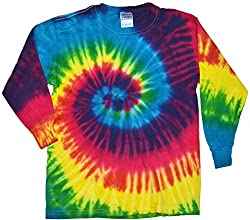 Colortone Youth & Adult Tie Dye Long Sleeve T-Shirt