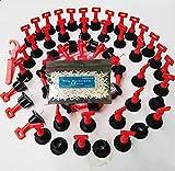 50 Piezasde Sistemas De Nivelación Baldosas Reutilizables, Niveladores de AzulejosCon llave Especial Profesional y 500 uds Cruces,cuñas niveladoras suelo,AzulejosNivel Antideslizantes Espaciadores
