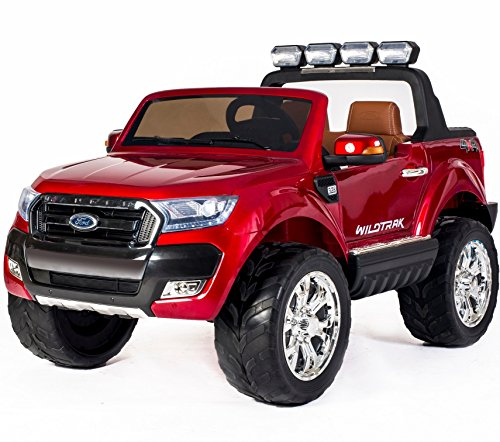 Ford Ranger Wildtrak 2017 Licenza 4WD 24V Batteria elettrica Bambini Ride On Jeep Pick-up –
