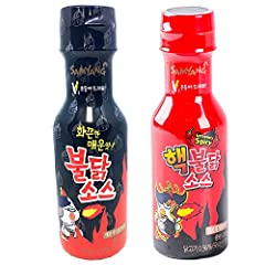 Hack Bulldark Spicy Chicken Roasted Sauce + Bulldark Spicy Chicken Roasted Sauce 2 sets Fire Noodle Challenge! Makes all the dishes delicious and spicy. Manufacturer : Samyang (Korea) Capacity : 200g×2
