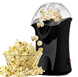Best Hot Air Poppers - Hot Air Popcorn Popper, 1200W Electric Popcorn Maker Review