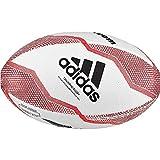 adidas NZRU R B Mini Bola de Rugby, Boys, White/Black/Active Red/Legend Purple, 0