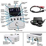 ZHITING Kit de osciloscopio Digital TFT Shell,Osciloscopio Kit de Bricolaje,Osciloscopio Digital,con Cable BNC Clip(montado a máquina)