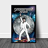 SIRIUSART Leinwand Wandbilder Saturday Night Fever
