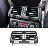 YUECHI 3 Style ABS Car Interior Armrest Box Rear Air Outlet Vent Grille Cover Trim for BMW X5 E70 X6 E71 2008-2013 Car Accessories Replacement Parts (Style C)