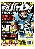 Draft Engine Magazine 2020 Fantasy Football NFL Panthers CHRISTIAN MCCAFFREY