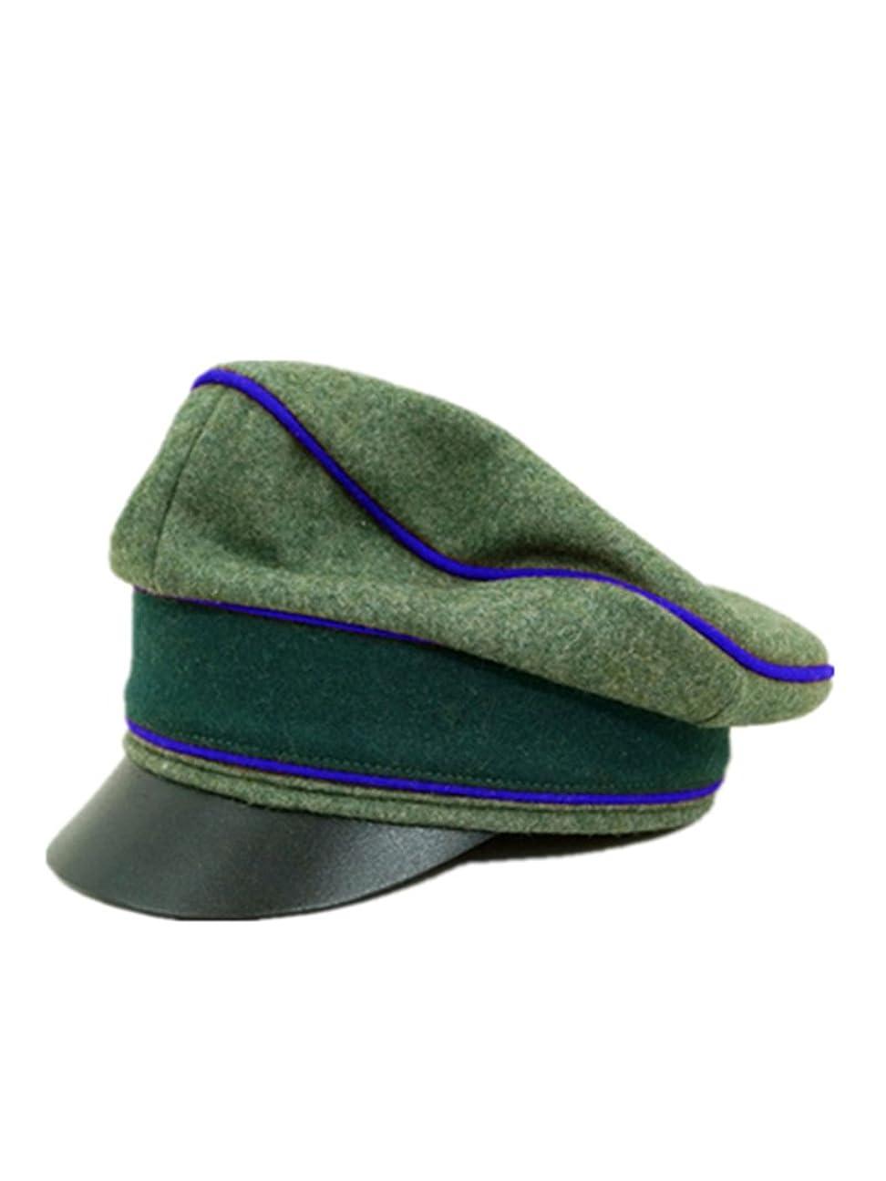 アパル作曲家アーカイブ第二次世界大戦 ドイツ軍 国防軍将校用クラッシュキャップ 医療 ウール材料-62