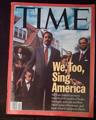 Time Magazine October 30 1995 We, Too, Sing America  African American Men March in Search of Hope