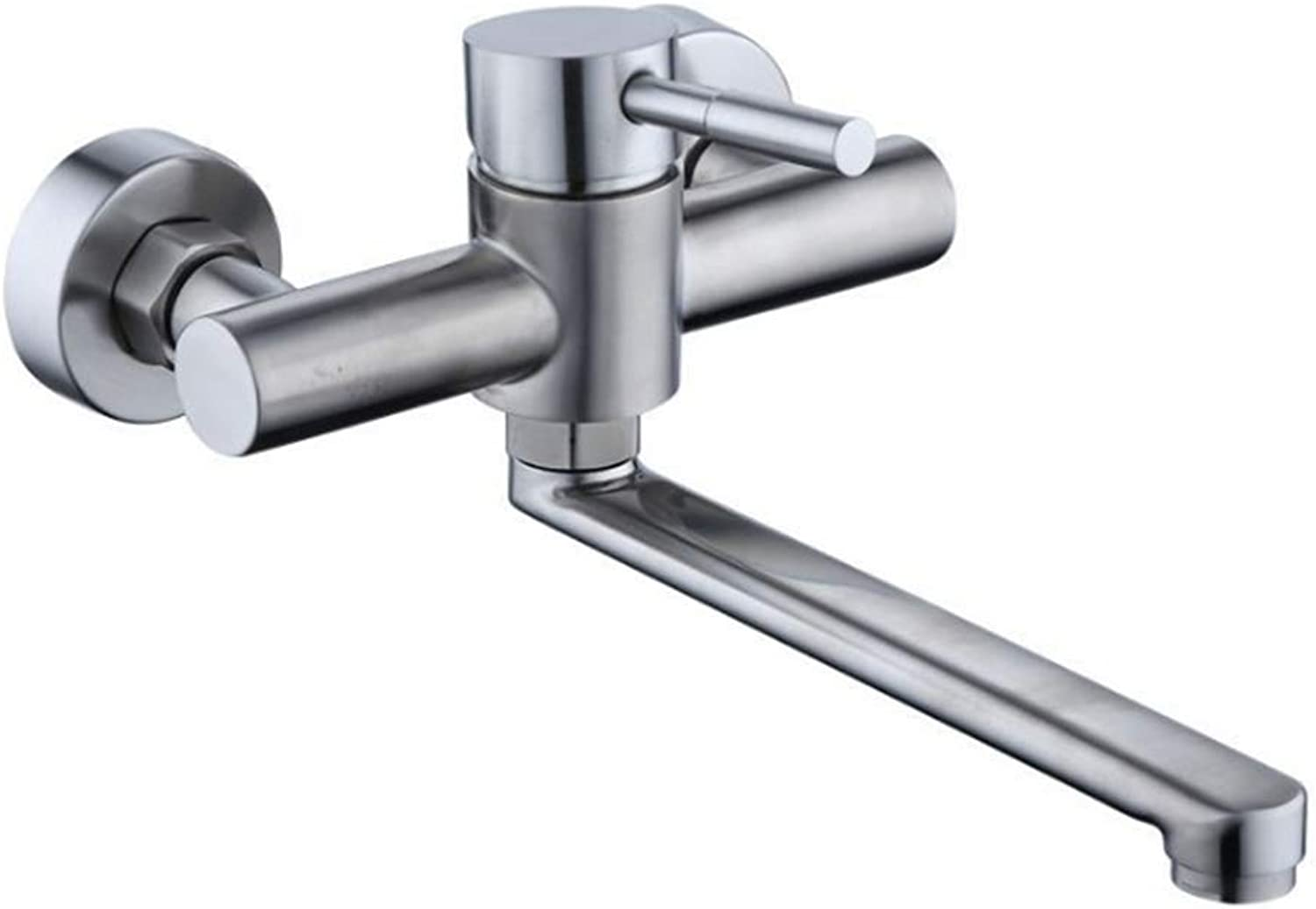 Counter Drinking Designer Arch304 Stainless Steel Tap for Cold and Hot Dishwash Basin