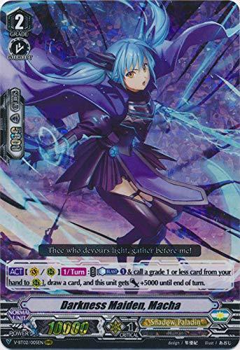 Cardfight!! Vanguard - Darkness Maiden, Macha - V-BT02/005EN - RRR - V Booster Set 02: Strongest! Team AL4