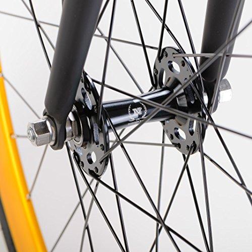 bonvelo Singlespeed Fixie Fahrrad Blizz Heart of Gold (XL / 59cm für Körpergrößen ab 181cm) - 6