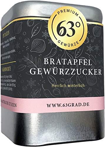 63 Grad - Bratapfel Gewürzzucker - für leckere Bratäpfel (140g)