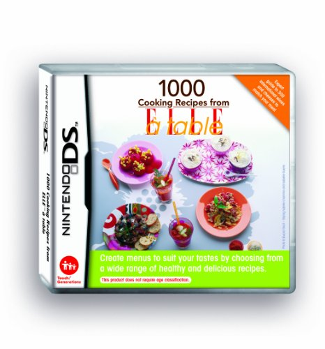 1000 Cooking Recipes From ELLE a Table (Nintendo DS)