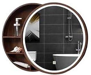 Meuble À Miroir Murale Armoire De Toilettes Meuble À Miroir De Salle De Bain Complète en Bois Meuble WC Suspendu Armoire S...