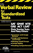 Verbal Review for Standardized Tests (Cliffs Test Prep)