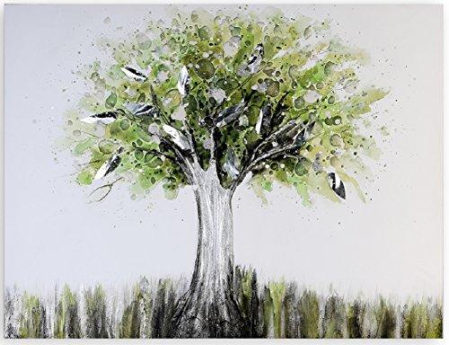 Casablanca Ölbild Tree of Life grün/braun90x70cm