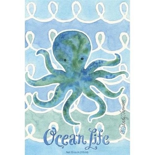 Fresh Scents by Terri Pack of 6 Large Scented Sachet Ocean Life