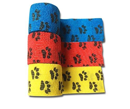LisaCare® Pflasterverband, Fingerpflaster selbsthaftend - ohne Kleber & elastisch- Wundverband, Fixierverband, Pflaster - 5cm x 4,5m - 3er Set