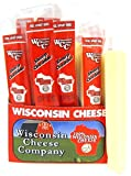 100% Wisconsin Cheese | 1oz. Sharp Cheddar Cheese Snack Sticks 24 count Sharp Cheddar Cheese Sticks Wisconsin Cheese Company Healthy Snacks Refrigeration Required