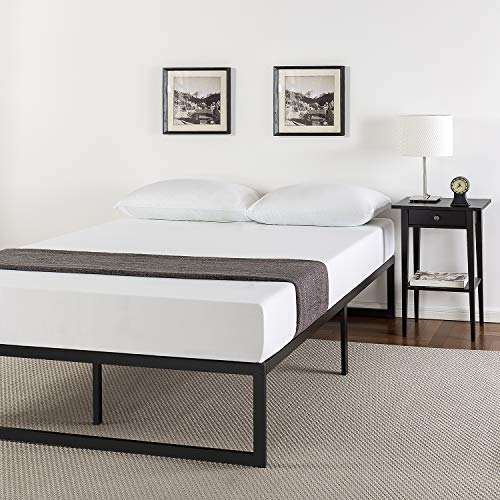 Zinus 14 Inch Metal Platform Bed Frame with Steel Slat Support, Mattress Foundation, Full