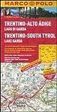 Trentino-Alto Adige, Lago di Garda 1:200.000. Ediz. multilingue (Carte stradali Marco Polo)