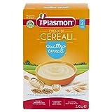 Plasmon Crema di Cereali - Quattro Cereali, 12 x 230 g