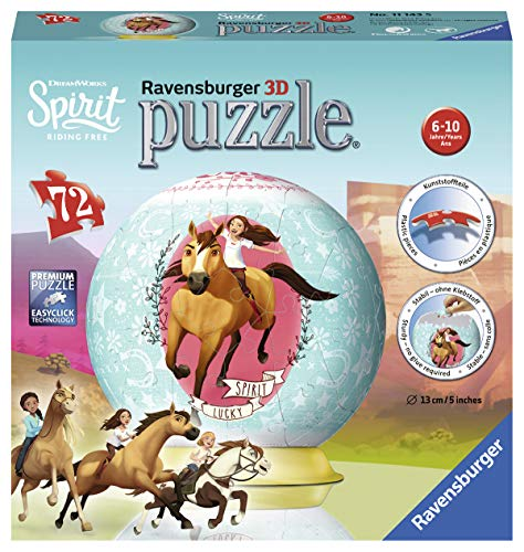Spirit 3D Puzzle-Ball 72 Teile: Erlebe Puzzeln in der 3. Dimension