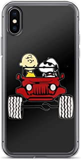 Charlie Brown Snoopy Jeep Shockproof Anti-Scratch Case for iPhone 7 Plus/8 Plus